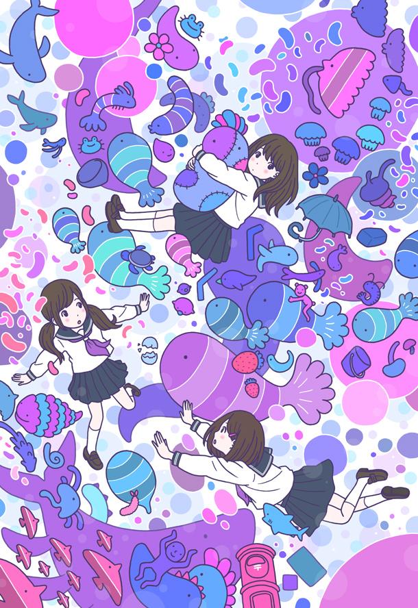 人気イラストレーター徳田有希さんに聞く おしゃれなイラストを描くコツ マナトピ