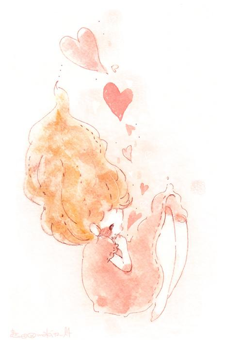 胸キュンイラストが人気のまき田さんに聞くお絵描き好きから
